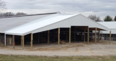 Sheep Barn Extension